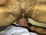 Skinny inked wife internal cumshot quickie